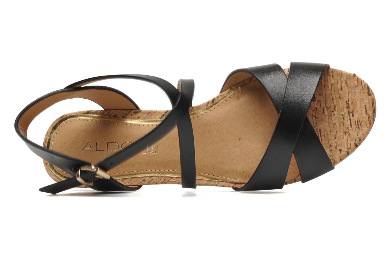 Sandales et nu-pieds Aldo BOUND Noir vue gauche
