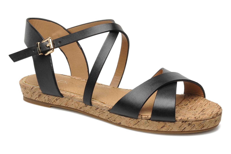 Sandales et nu-pieds Aldo BOUND Noir vue détail/paire