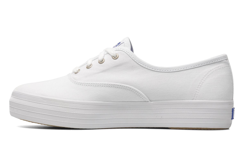 Sneaker Keds Triple weiß ansicht von vorne