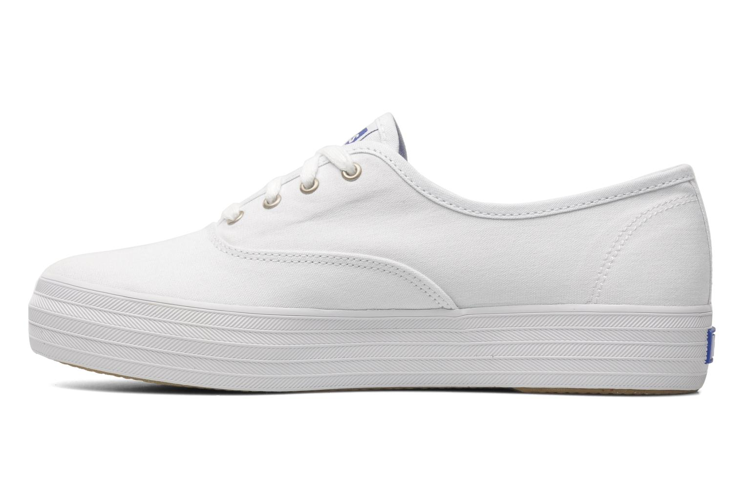 Baskets Keds Triple Blanc vue face