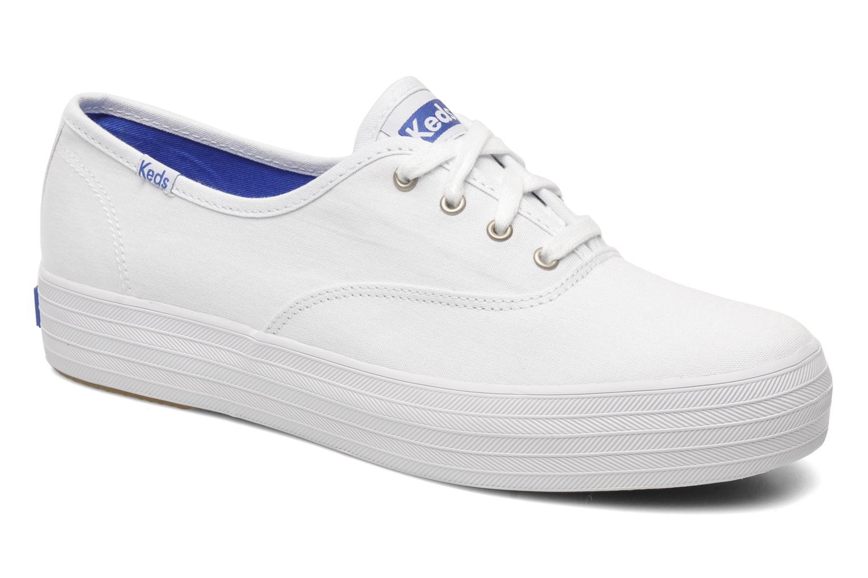 Los últimos zapatos de descuento para hombres y mujeres Keds Triple (Blanco) - Deportivas en Más cómodo