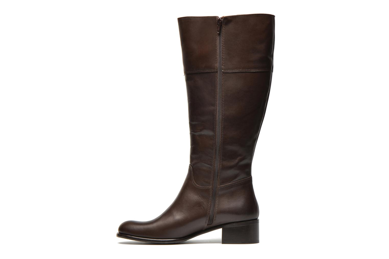 Boots & wellies Jilsen Anna - 48 Brown front view