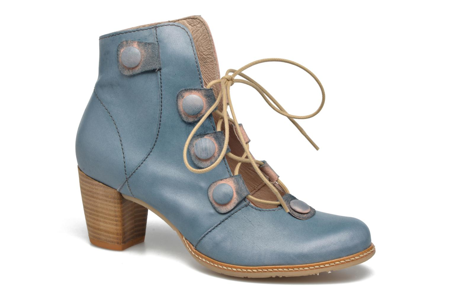 Ankle boots Dkode Valyn Blue detailed view/ Pair view