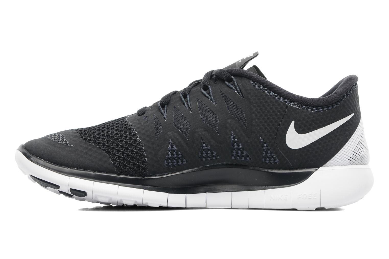 Chaussures de sport Nike Wmns Nike Free 5.0 '14 Noir vue face