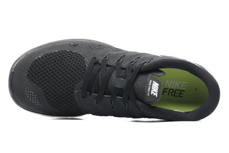 Chaussures de sport Nike Wmns Nike Free 5.0 '14 Noir vue gauche