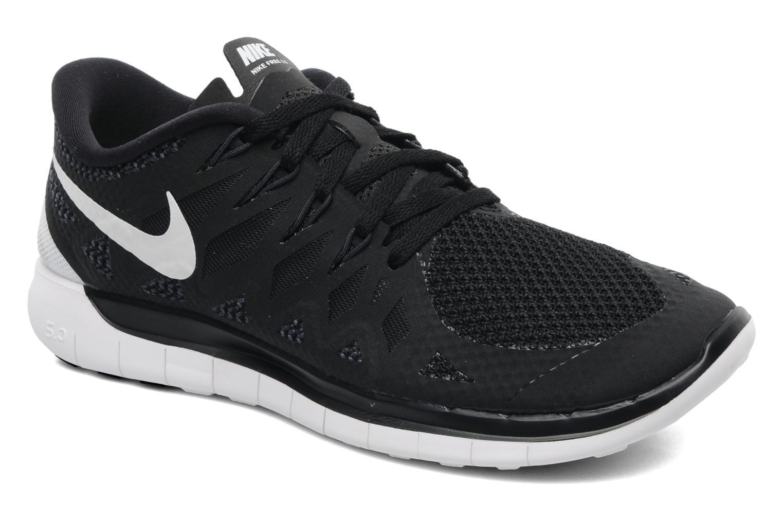 Chaussures de sport Nike Wmns Nike Free 5.0 '14 Noir vue détail/paire