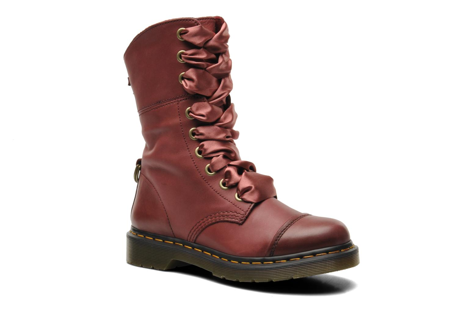 Bottes Dr Martens Aimilita Cherry Red tMdkLFf