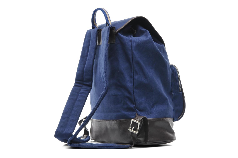 Rucksäcke Fred Perry Classic canvas rucksack blau ansicht von rechts