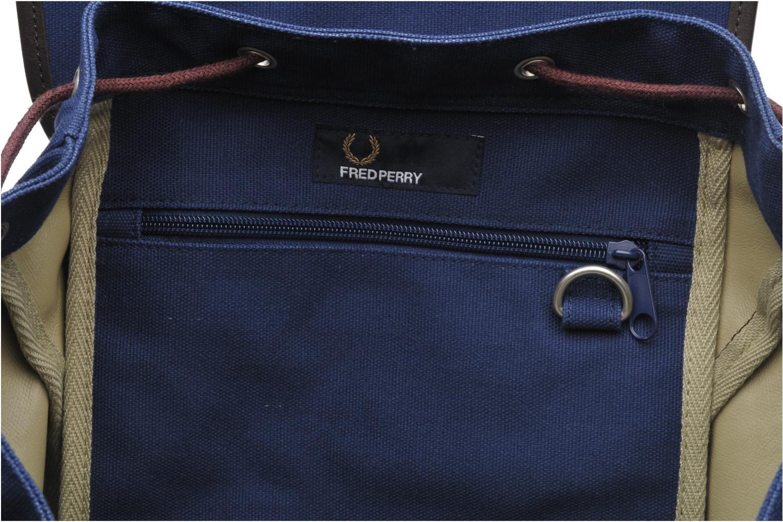 Rucksäcke Fred Perry Classic canvas rucksack blau ansicht von hinten