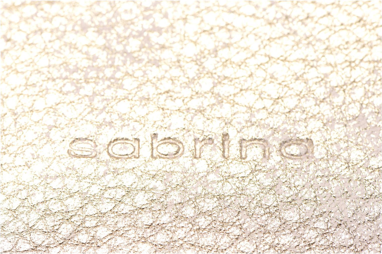 Mini Bags Sabrina Sophie gold/bronze ansicht von links