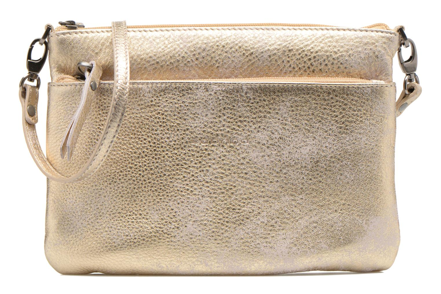 Clutch bags Sabrina Sophie Bronze and Gold detailed view/ Pair view
