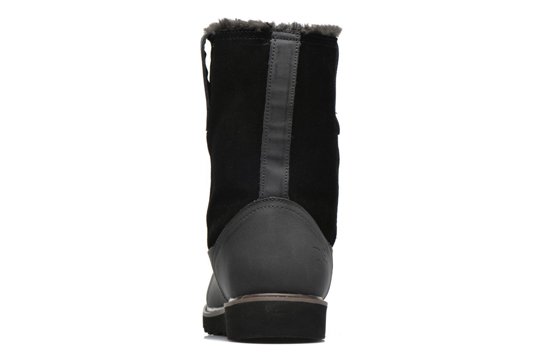 Bottines et boots DUDE Vigo Noir vue droite