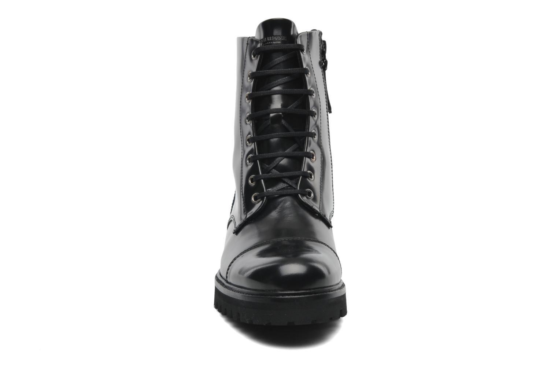 Stiefeletten & Boots Royal Republiq Ave Hiker Legioner Boot Polido schwarz schuhe getragen