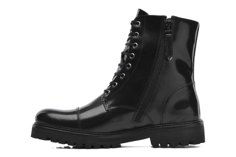 Boots en enkellaarsjes Royal Republiq Ave Hiker Legioner Boot Polido Zwart voorkant