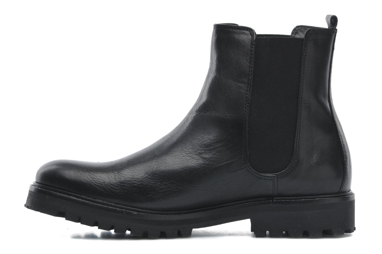 Ave Hiker Chelsea Boot Tweed Black eurotexas