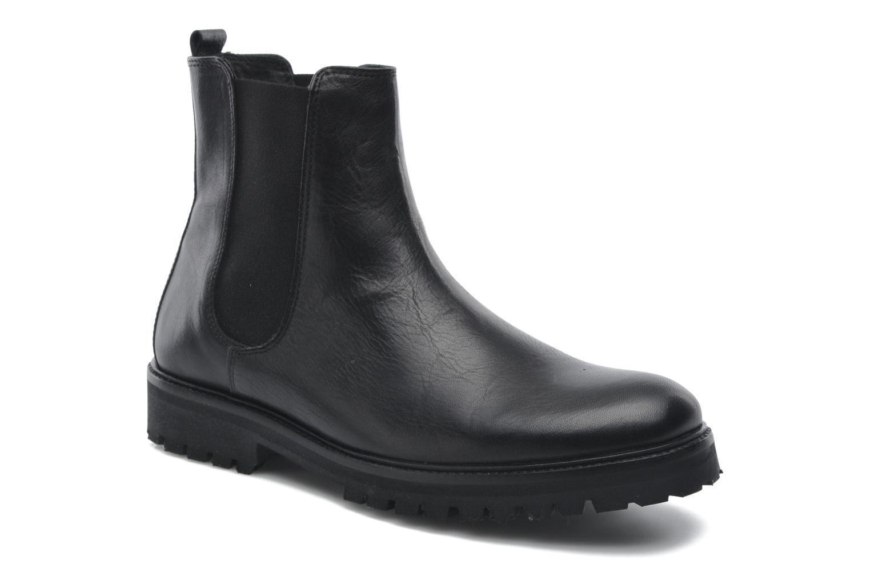 Ave Hiker Chelsea Boot Tweed Black eurotexas