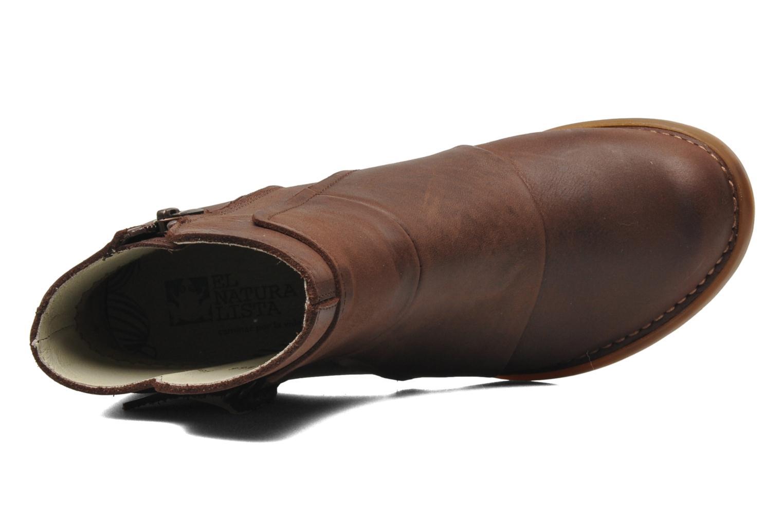 Boots en enkellaarsjes El Naturalista Duna N566 Bruin links