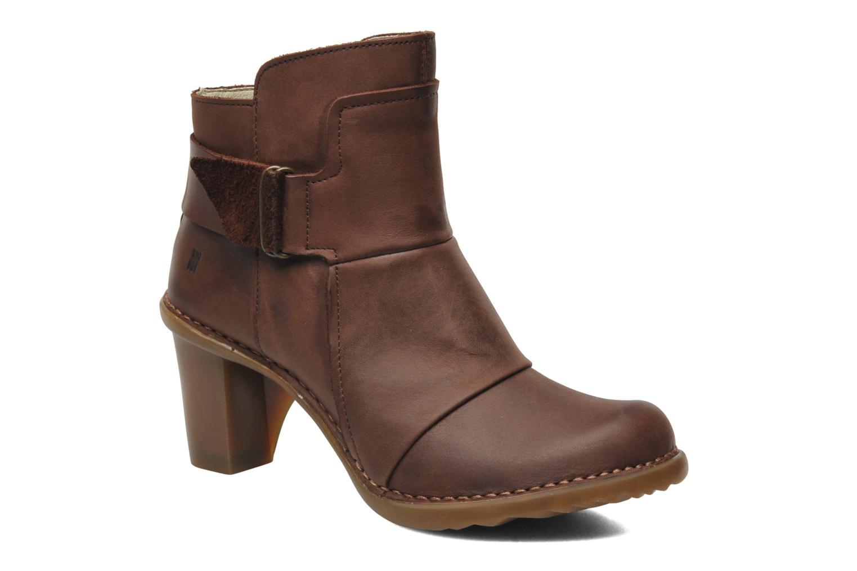 Boots en enkellaarsjes El Naturalista Duna N566 Bruin detail