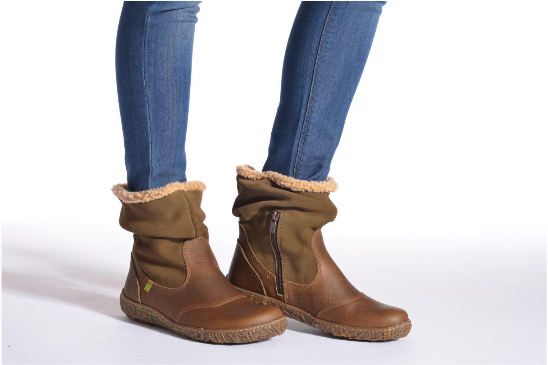 Bottines et boots El Naturalista Nido Ella N758 Bleu vue bas / vue portée sac