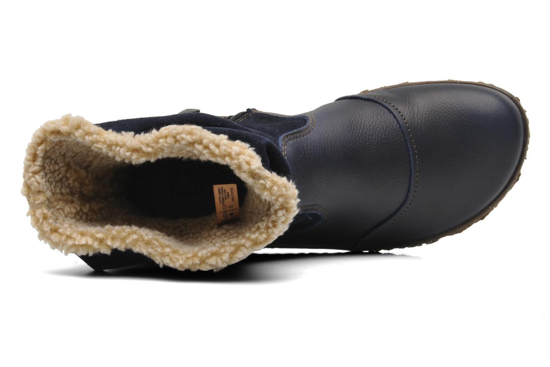 Bottines et boots El Naturalista Nido Ella N758 Bleu vue gauche