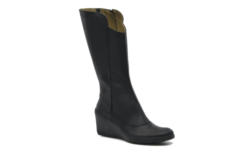 Boots en enkellaarsjes El Naturalista Pirita N816 Zwart detail