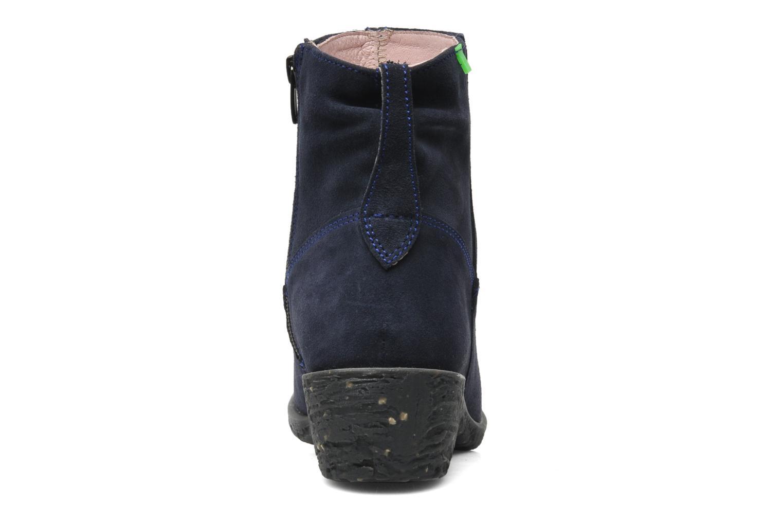 Bottines et boots El Naturalista Quera NC50 Bleu vue droite