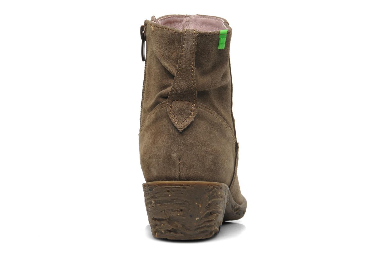 Bottines et boots El Naturalista Quera NC50 Beige vue droite