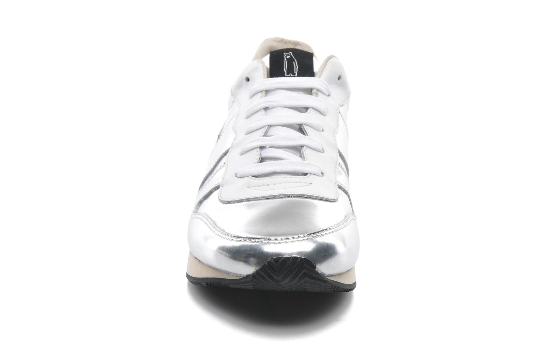 Sneaker Shoe the bear Trainer silber schuhe getragen