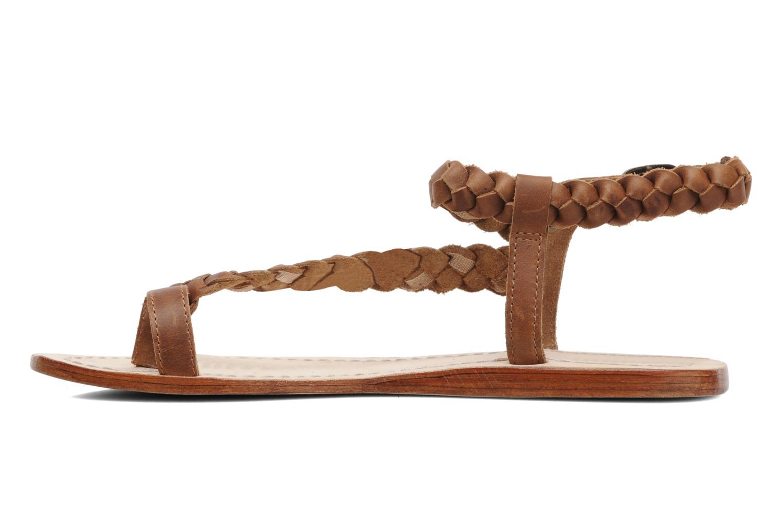Sandales et nu-pieds Jonak Jade Marron vue face