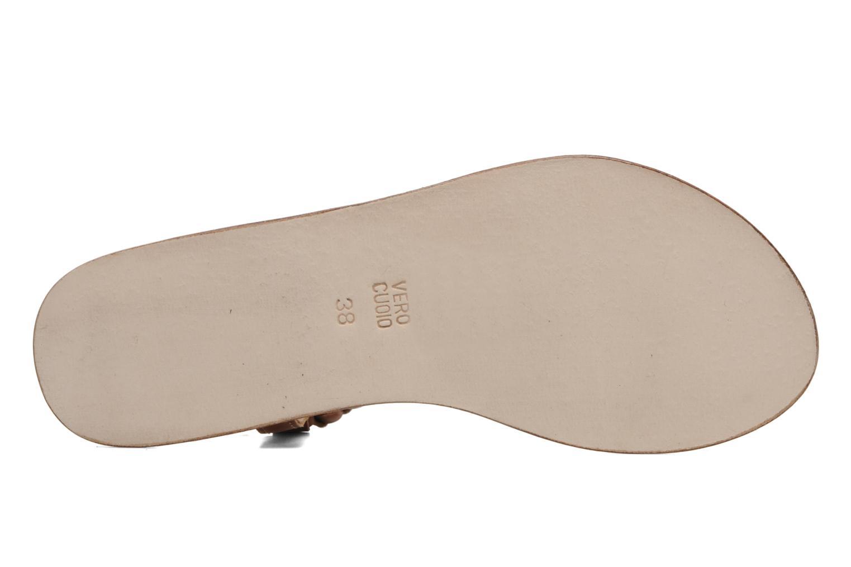 Sandales et nu-pieds Jonak Jade Marron vue haut