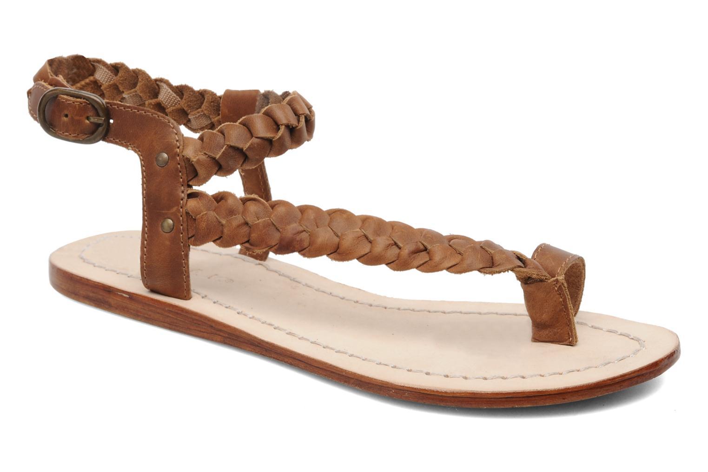 Sandales et nu-pieds Jonak Jade Marron vue détail/paire