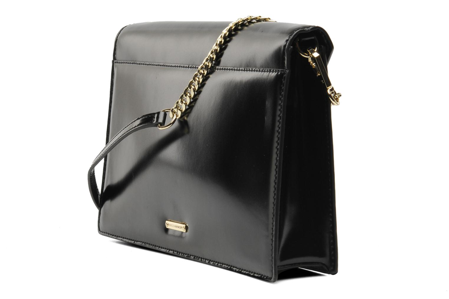 Clutch bags Rebecca Minkoff Paris Clutch Black view from the right