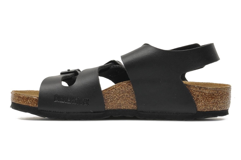 Sandales et nu-pieds Birkenstock Canberra Noir vue face