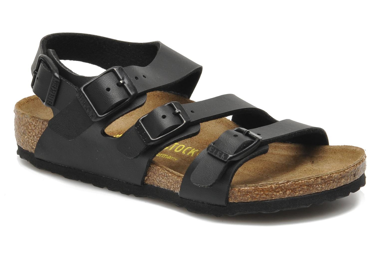 Sandaler Birkenstock Canberra Sort detaljeret billede af skoene
