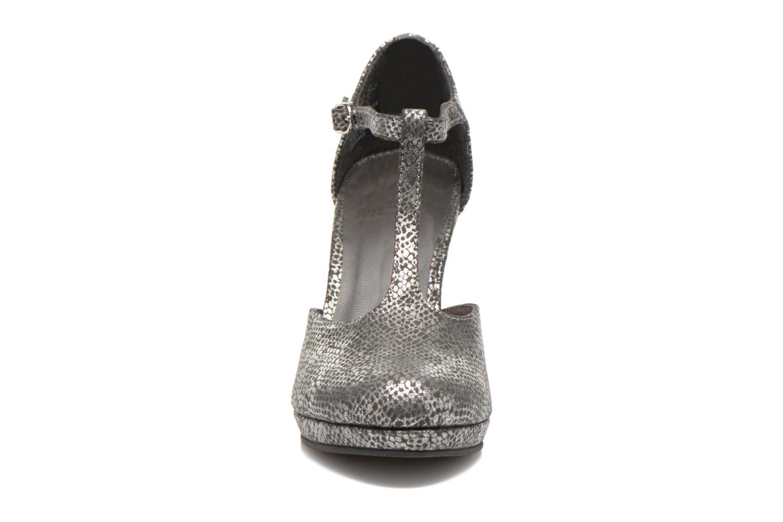 Escarpins Tamaris Charlista Gris vue portées chaussures