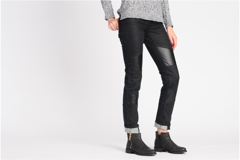 Bottines et boots Schmoove Woman Faith Perfecto Or et bronze vue bas / vue portée sac