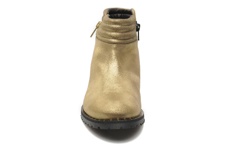 Bottines et boots Schmoove Woman Faith Perfecto Or et bronze vue portées chaussures