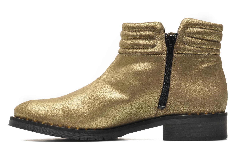 Bottines et boots Schmoove Woman Faith Perfecto Or et bronze vue face