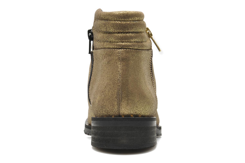 Bottines et boots Schmoove Woman Faith Perfecto Or et bronze vue droite