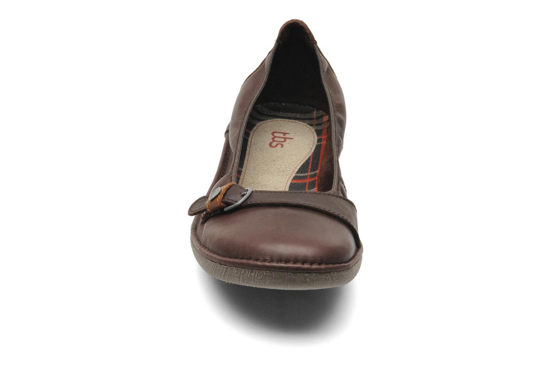 Ballerines TBS Maline Violet vue portées chaussures