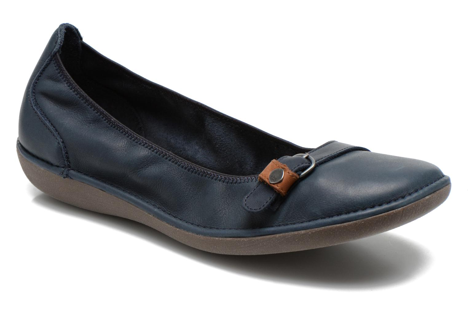 Ballet pumps TBS Maline Blue detailed view/ Pair view