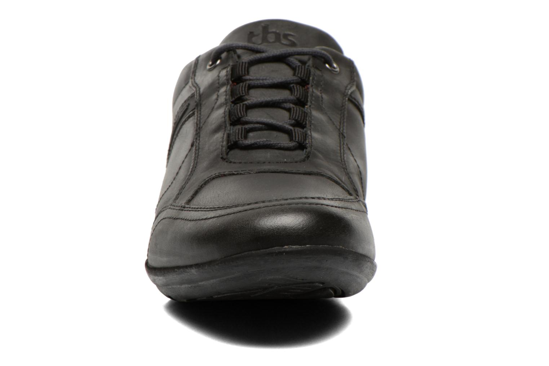 Baskets TBS Luckas Gris vue portées chaussures