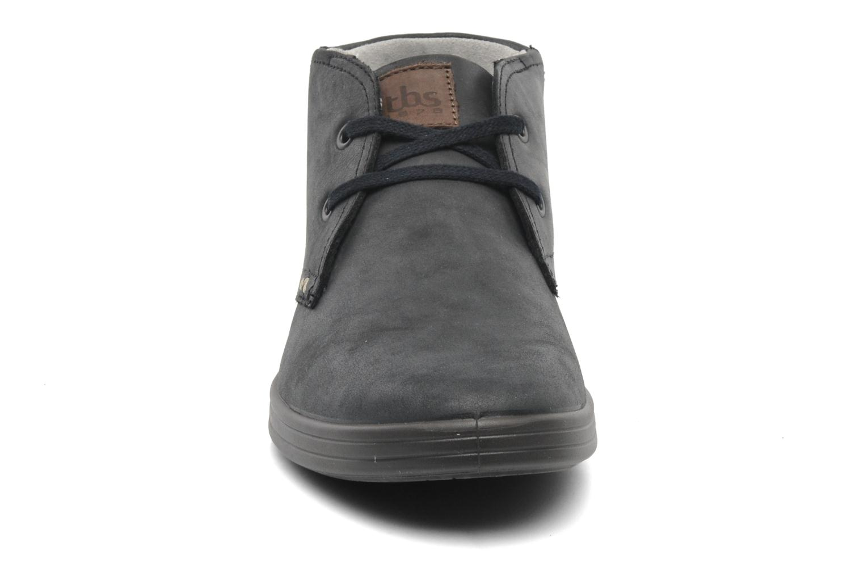 Chaussures à lacets TBS Enrike Noir vue portées chaussures