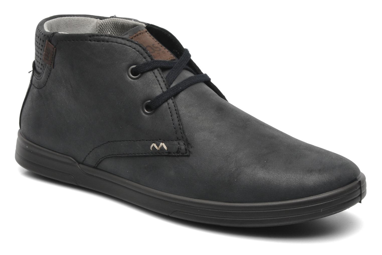 Chaussures à lacets TBS Enrike Noir vue détail/paire
