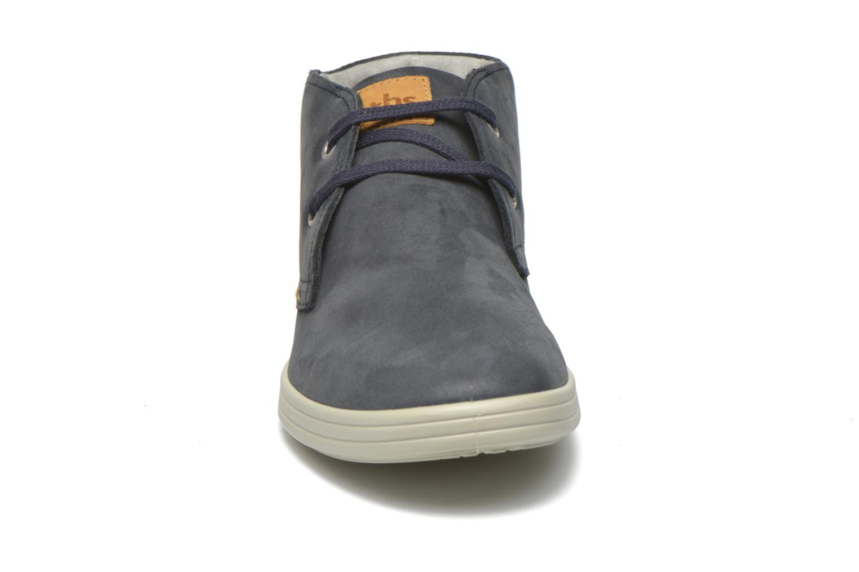 Chaussures à lacets TBS Enrike Bleu vue portées chaussures