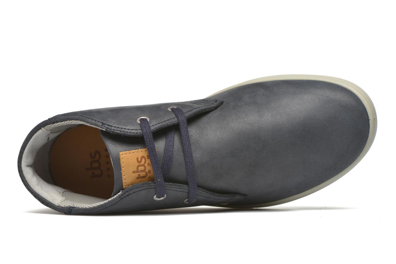 Chaussures à lacets TBS Enrike Bleu vue gauche