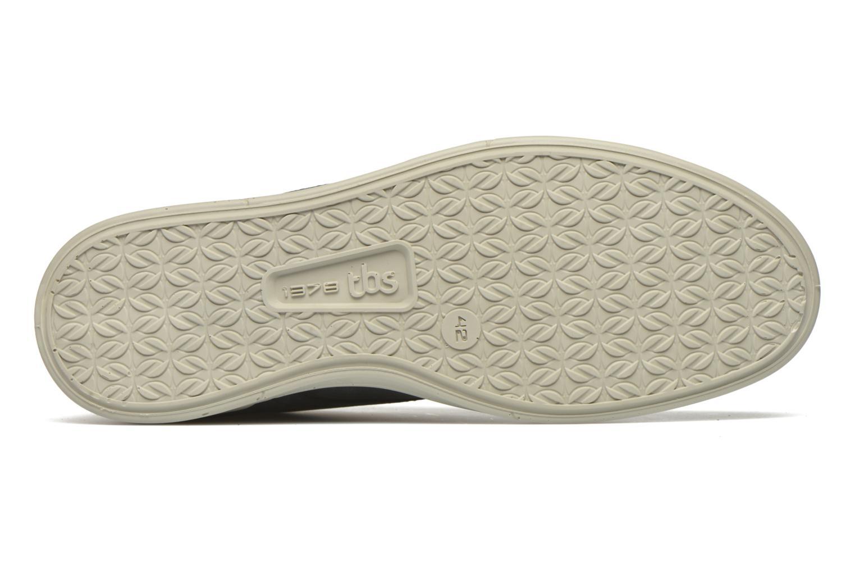 Chaussures à lacets TBS Enrike Bleu vue haut
