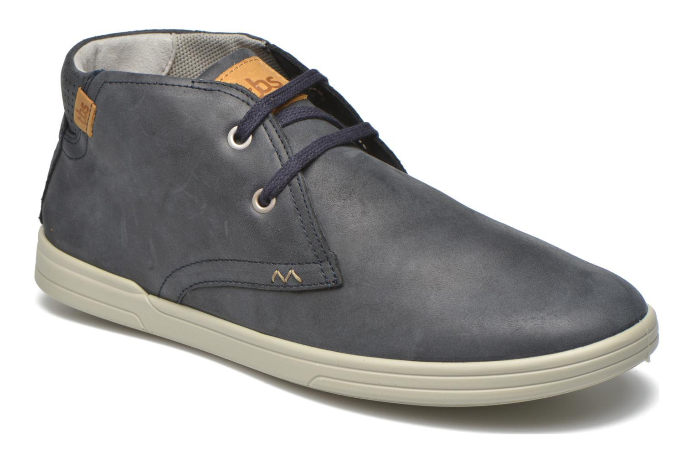 Chaussures à lacets TBS Enrike Bleu vue détail/paire