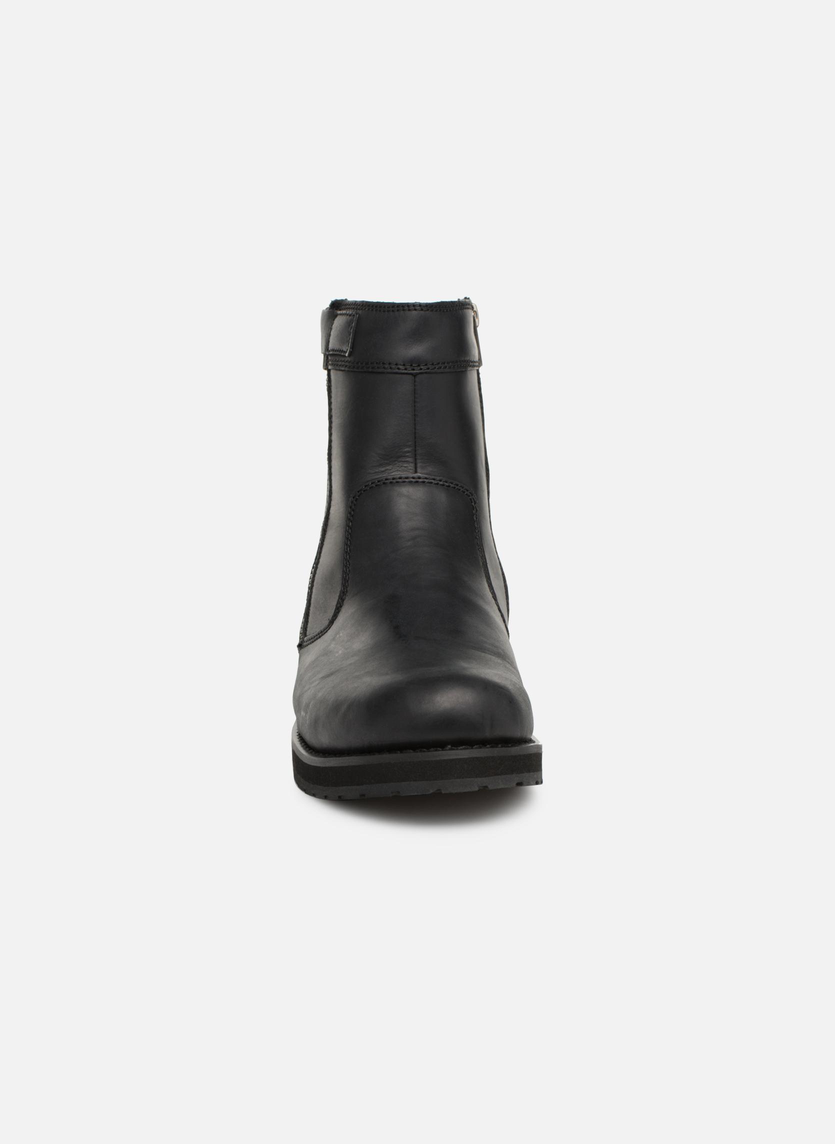 Bottes TBS Quamer Noir vue portées chaussures