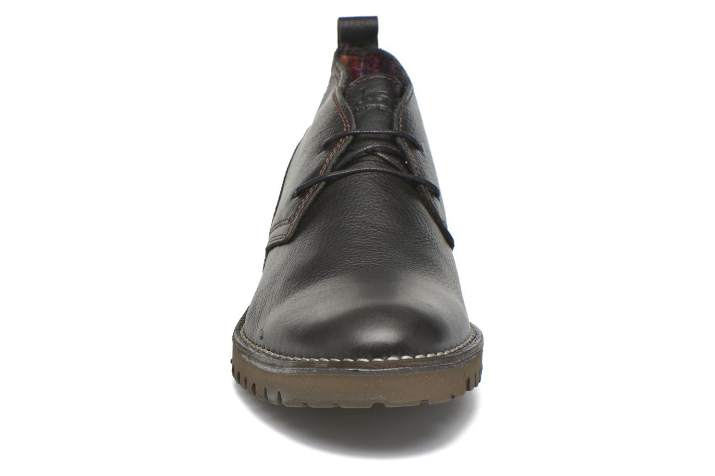 Chaussures à lacets TBS Maxime Noir vue portées chaussures